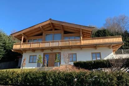 Alpen-Chalet in bester Lage mit traumhaftem Blick - provisionsfrei -