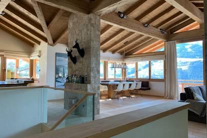 Luxus Alpen-Chalet in bester Lage mit traumhaftem Blick - provisionsfrei -