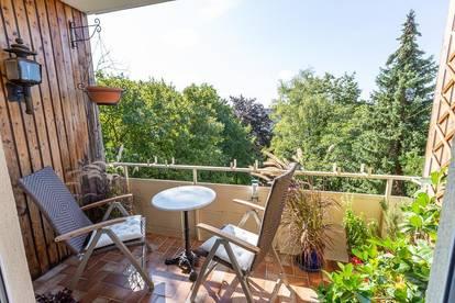 Provisionsfreie 3-Zimmer Wohnung in bester Gersthofer Ruhelage, mit Balkon, Wienblick, Gartenbenützung, 94 m²