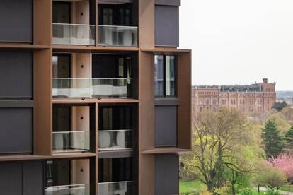 BEL & MAIN Residences   Erstbezugs Wohnung mit 38 m² Wohnküche   Traumhafter Ausblick   Top 0308