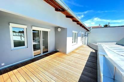 Top sanierte 140m² Wohnung mit großer Terrasse im Zentrum Poysdorf