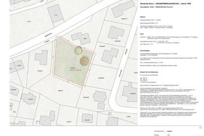 Von Privat! Wunderschönes Baugrundstück in Klaus/ Vlbg. für über 700 qm Wohnfläche, 2,5 Geschossfläche + Untergeschoss, Tiefgarage.