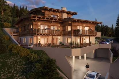 Luxury south-facing chalet with wellness area, gym and cinema room.