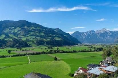 Zillertal, sonnige Neubauwohnung mit unverbaubarem Fernblick und moderner Aufteilung