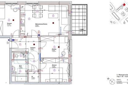 Neubauwohnung mit perfekter Raumaufteilung