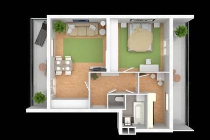 Penthouse über Baden