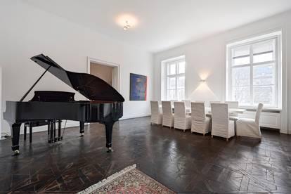 Repräsentatives, klimatisiertes 280 m2 Luxusapartment direkt neben der Wiener Staatsoper, provisionsfrei