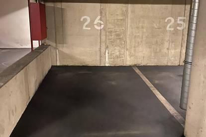 Gut gelegener Garagenparkplatz in der Höttinger Au 72 zu vermieten