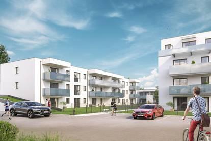 FRÜHJAHRS-AKTION | Provisionsfrei ab € 710,- mtl. ohne Eigenkapital, bonitätsabhängig | Werndorf Living | moderne 3-Zimmer-Neubauwohnung mit Balkon