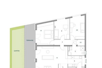 Provisionsfrei ab € 560,00 mtl. ohne Eigenkapital, bonitätsabhängig | Westlicht am Anger Graz-Andritz | helle 4-Zimmer-Gartenwohnung