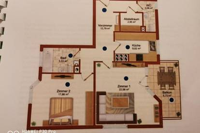 Schön angelegte Wohnung in Top Lage