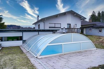 Sonniges Mehrfamilienhaus in Ruhelage mit Pool