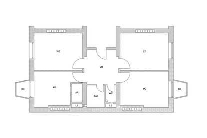 Helle Wohnung mit optimaler Raumaufteilung.