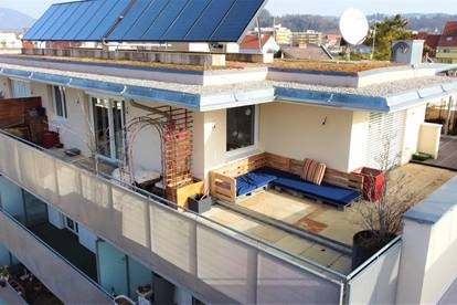 Penthouse mit sonniger Terrasse
