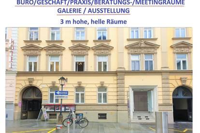 Geschäft, Einzelhandel, Firmensitz 1-A Lage IM ALTSTADTZENTRUM SALZBURG: Andräviertel: 96 m2