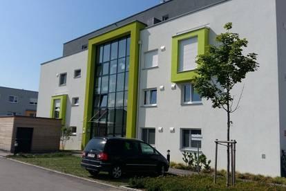 Leonding/Zentrumslage: Moderne 2 Zimmer Wohnung mit riesigem Balkon