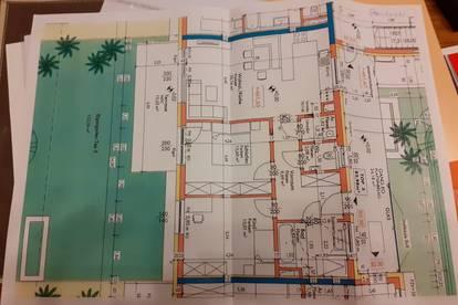 83 m2, Erstbezug, Gartenwohnung, Privatverkauf und provisionsfrei
