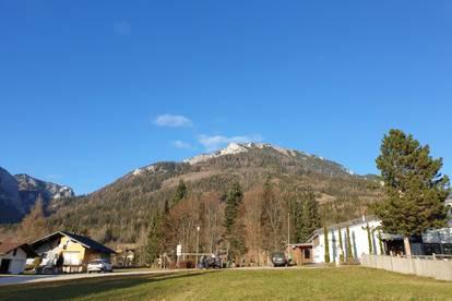 Sonniges Grundstück mit Bergblick Nähe Grüner See