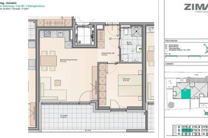 PROVISIONSFREI! NEUBAU! Helles City-Apartment mit großem Balkon & hochwertiger Einbauküche