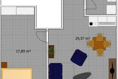 Neue 50m² Wohnung Provisionsfrei