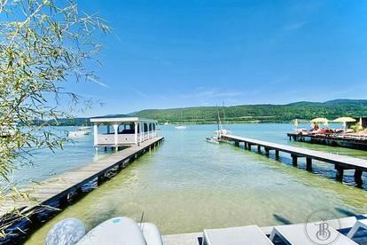 *Luxus Pur* - Mietwohnung mit atemberaubendem Wörtherseeblick, Badeplatz und Poolanlage