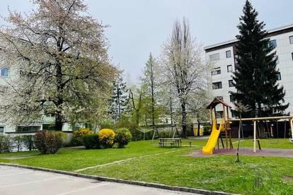 Lichtdurchflutete, sehr gepflegte 4 Zi Wohnung Nähe UKH Klagenfurt