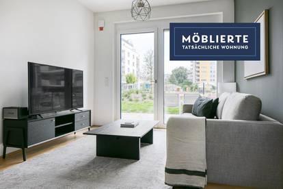 Garten-Wohnung nahe Ubahn U1 und Kagran, ruhig mit bester Anbindung und Parkblick, 3 Zimmer + Garten (VIE14)