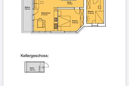 Zentrale Wohnung zur Langzeitmiete