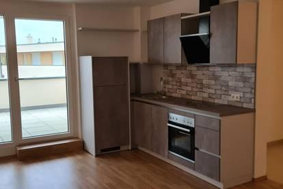 Neubau - 2 Zimmer DG Wohnung Erstbezug 55 m² + 25 m² Dachterrasse