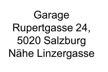 Garage - ab sofort