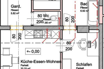 48m² Wohnung im Zentrum von Lambach
