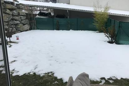 Gartenwohnung mit Aussicht