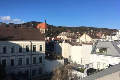 Klimatisierte Dachgeschoß-Wohnung in Mödlinger Fußgängerzone, Erstbezug