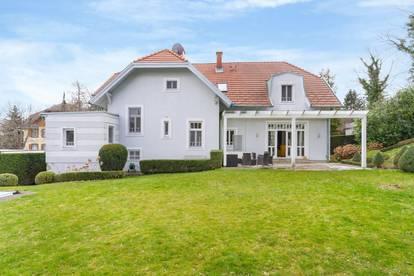 Elegante Familienvilla in bester Grünruhelage
