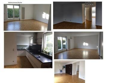 Sonnige 4-Zimmer-Wohnung mit Eigengarten in zentraler Lage