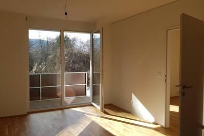 Erstbezug, schöne 2-Zimmer-Wohnung, mit Balkon. Provisionsfrei.