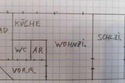 Erdgeschoßwohnung 50 m2 Zentrale Lage, Privat keine Maklergebühr
