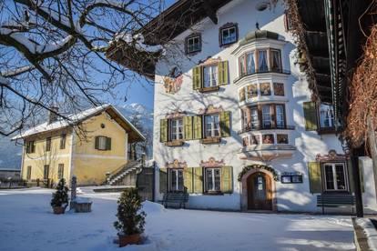 ERSTBEZUG : Schöne helle 3-Zimmerwohnung mit Terrasse und Erkerzimmer im historischen Gutshof Voldöpp, Kramsach