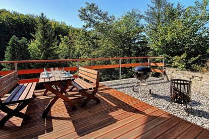 Alleinlage | Neubau | Haus in Weidling am Waldrand mit Doppelgarage und riesegem Garten