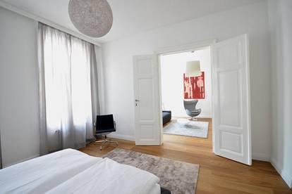 stilvoll eingerichtete Wohnung in der Nähe des Rathauses