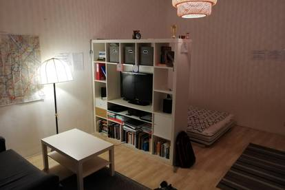 1 Zimmerwohnung, Provisionsfrei, nach Süden orientiert, unmobilliert.