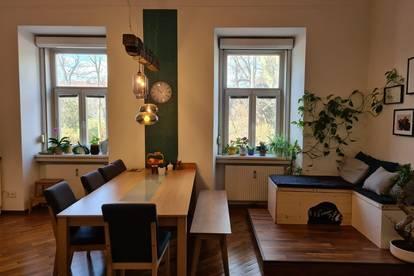 Sehr gepflegte 3,5 Zimmer- Altbauwohnung in Bestlage zu vermieten!