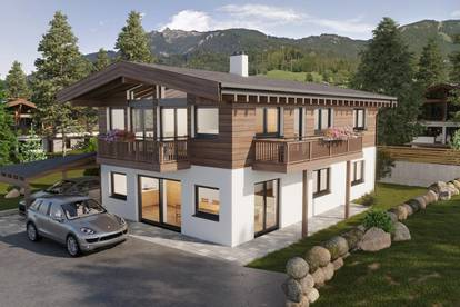 Exklusives Neubau-Chalet in idyllischer Lage am Fuße der Loferer Steinberge