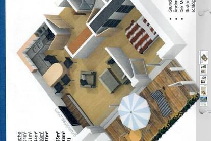 Hochwertige 2-Zimmer-Wohnung
