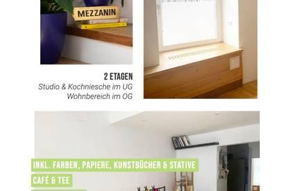 Studio Atelier | Wohnen & Arbeiten auf 2 Ebenen