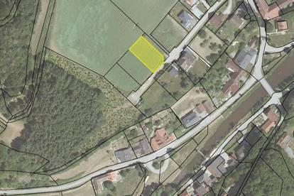 Baugrundstück in ruhiger Ortsrandlage von Hohenstein mit 856m², zum Kauf