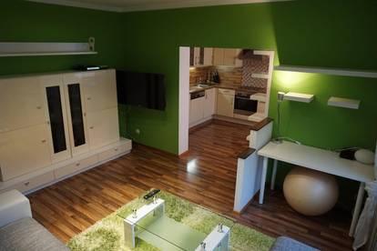 Gepflegte teilmöblierte Wohnung zu vermieten