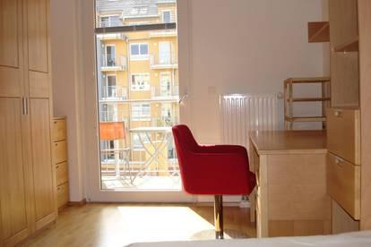 Vollmöbilierte Zweizimmerwohnung -2 WG Zimmer mit eigenem Bad -in U3 Nähe in 15.Bezirk Wien