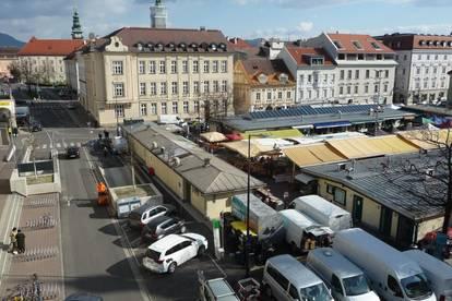Über den Dächern im Herzen von Klagenfurt inkl. Tiefgaragenplatz am Markt