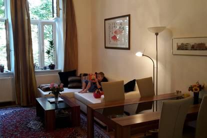Provisionsfrei Vollmöblierte, sanierte Altbau-Mietwohnung in Brigittenau,
